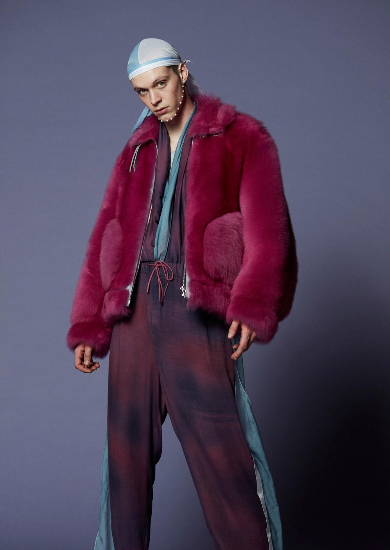 Pigalle FW18 Menswear - Model: Gianluca Potami