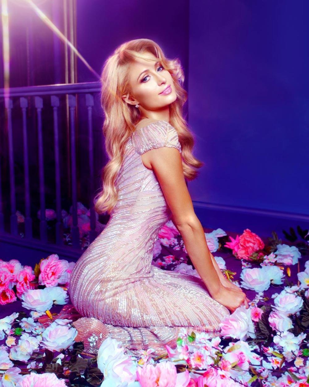 Paris Hilton Kim Kardashian Yeezy Season 6