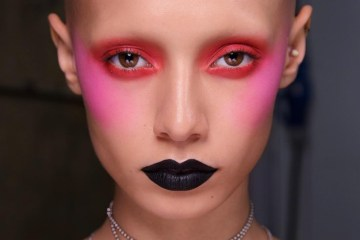 Ashley Williams Make-Up Look NYFW