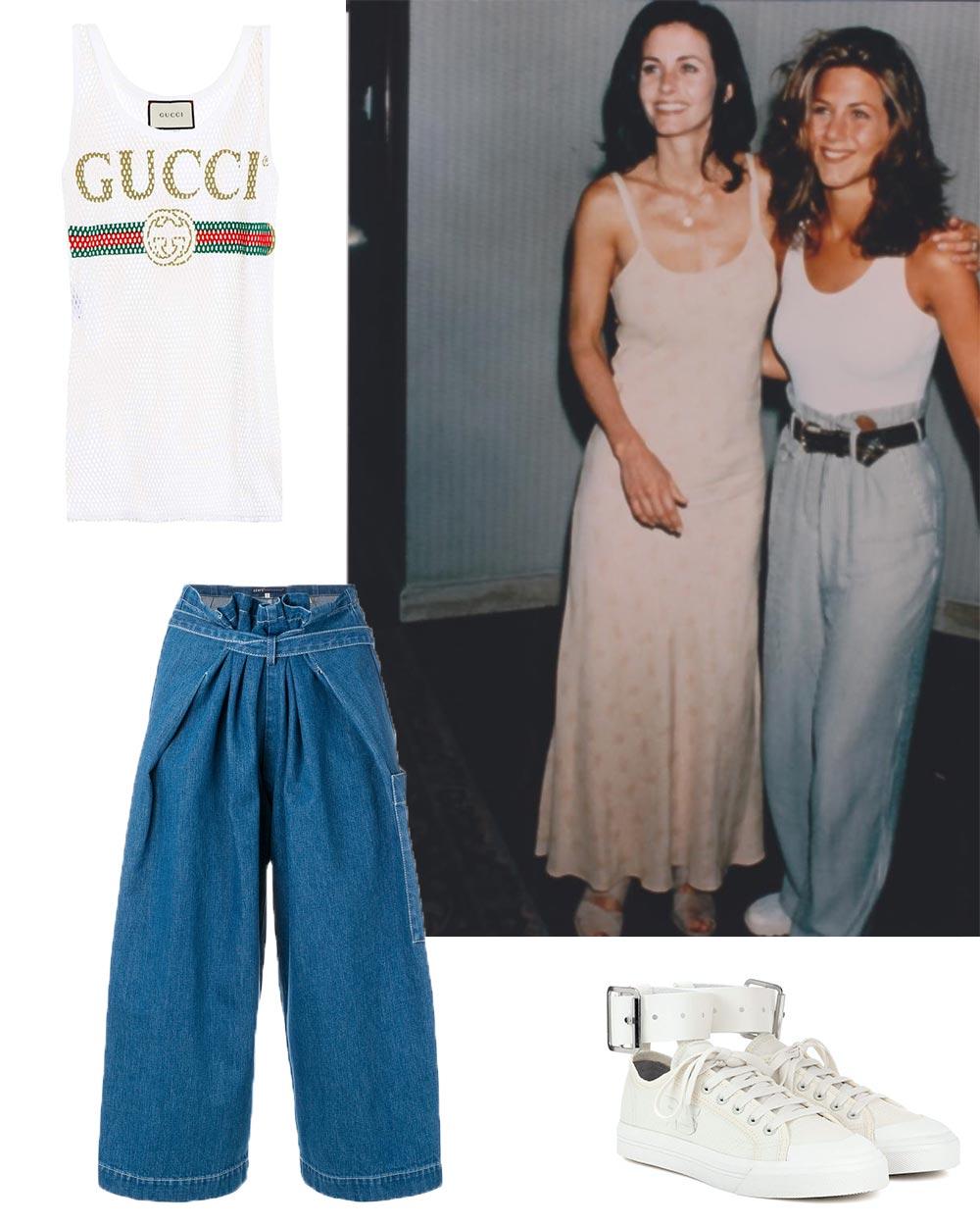 Friends Trends Fashion Rachel Monica