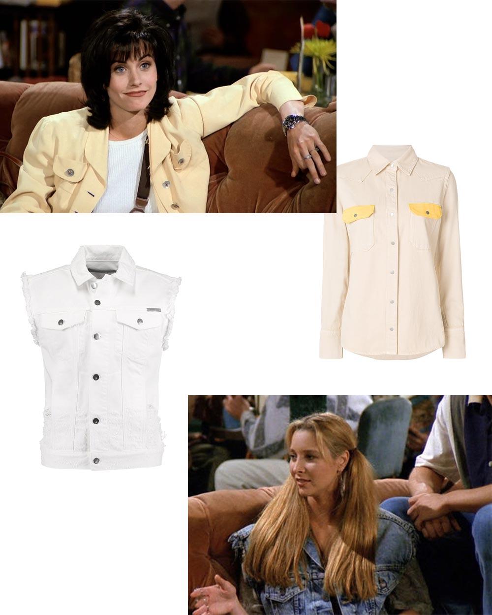 Friends Trends Fashion Monica Phoebe