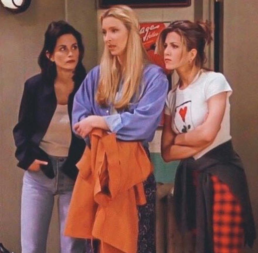 Friends Trends Fashion 90's
