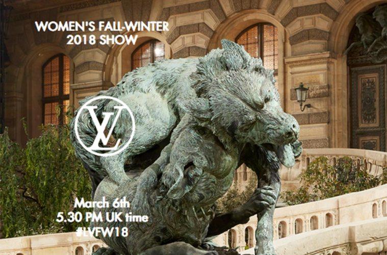 Louis Vuitton Women's Show Winter 2018 Livestream