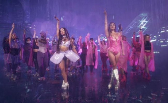 Watch Lady Gaga And Ariana Grande Make Us Wet With Rain