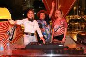Gominho, DJ Miss Cady e Natália Rodrigues