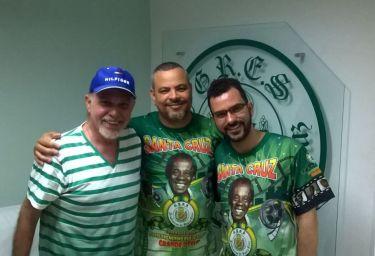 Lucas Pinto, William Paixão e Júlio César