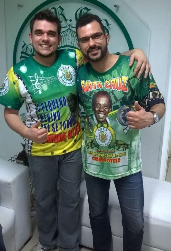 Wesley Cássio e William Paixão