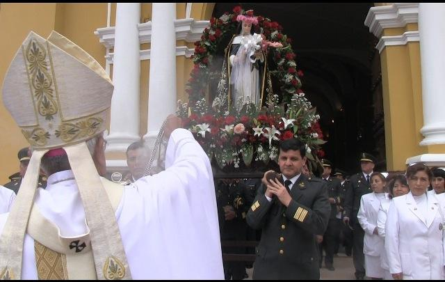 Homenaje a Santa Rosa de Lima