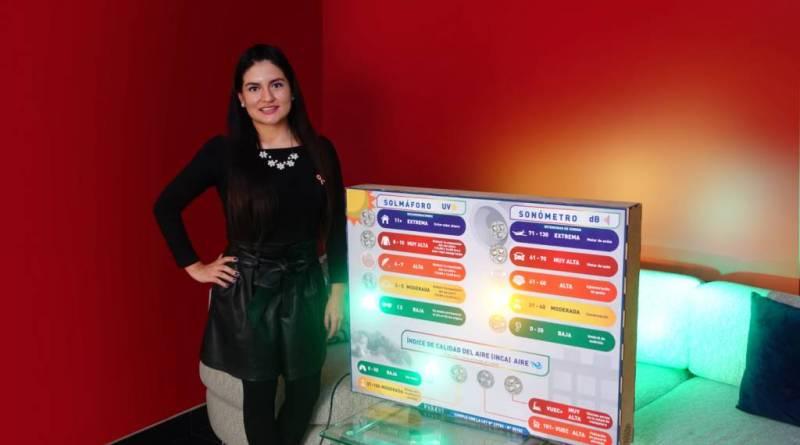 Jóvenes Peruanas crean medidor ambiental para mejorar la salud pública