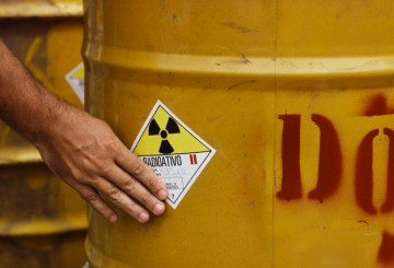 Barrel Containing Radioactive Waste
