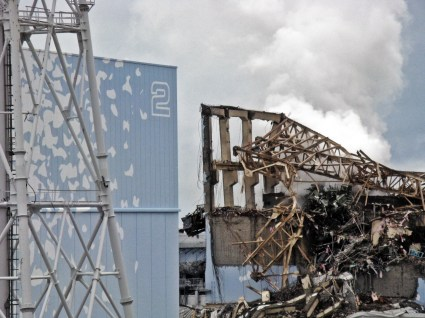 Fukushima Daiichi Unit 3 after explosion - March 20th, 2011 - 2