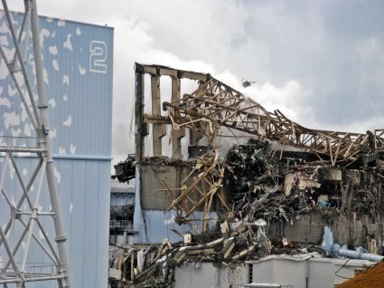 Fukushima Daiichi Unit 3 after explosion - March 20th, 2011 - 6