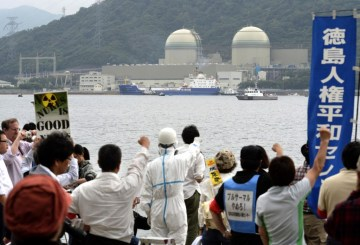 Protests in Japan as MOX Fuel arrives from France for first time since March 11th, 2011 and the Fukushima Daiichi nuclear disaster