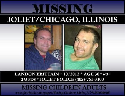 Landon Brittain Missing