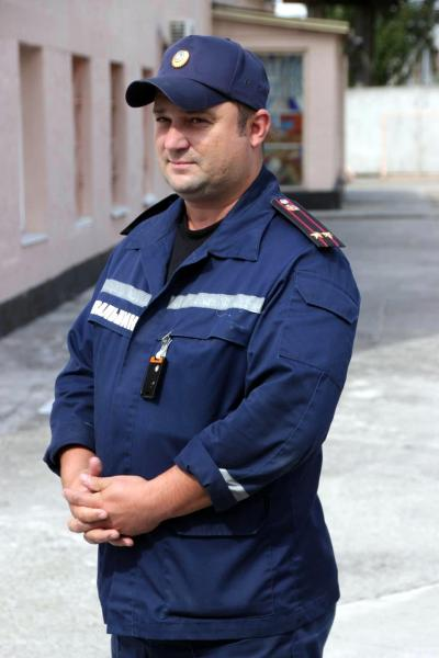 The Fire Chief of the Chernobyl nuclear power plant Fire Department.