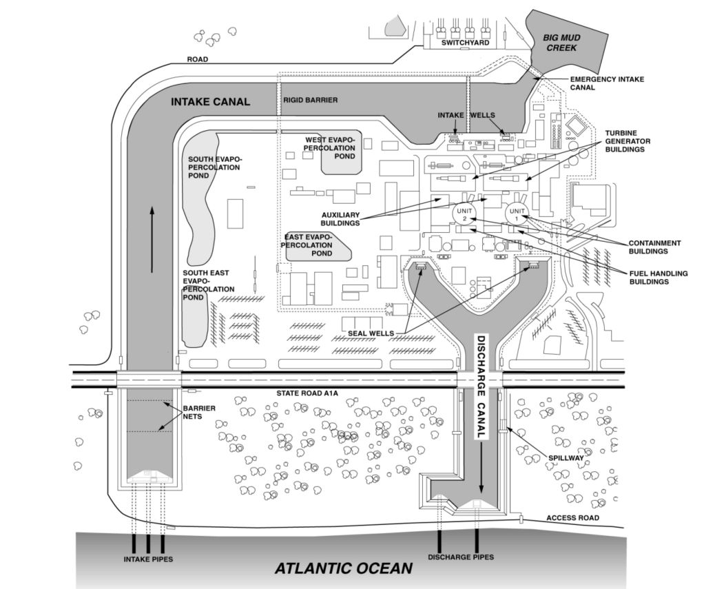 Scuba Diver Sucked Into St Lucie Nuclear Power Plant Intake Suing With Diagram