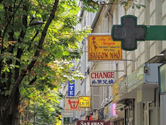 China Town Paris Enseignes