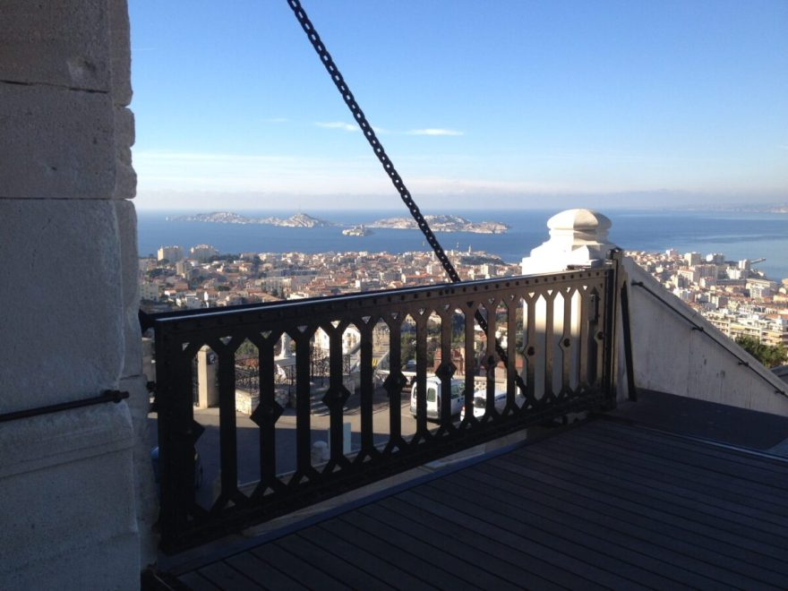 vue depuis basilique Notre Dame de la Garde