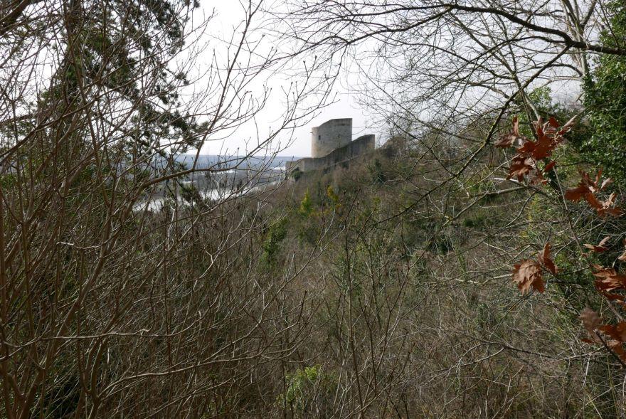 tour médiévale, la roche-guyon
