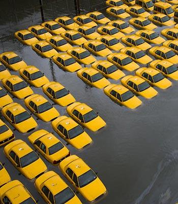 A slowed, darkened NYC begins to stir to life