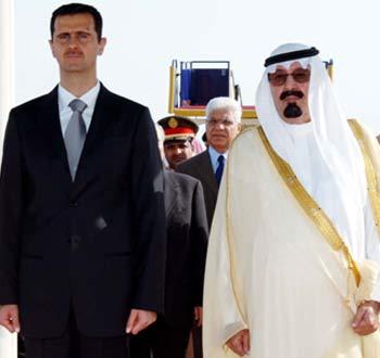 Syria's Assad visits Egypt and Saudi
