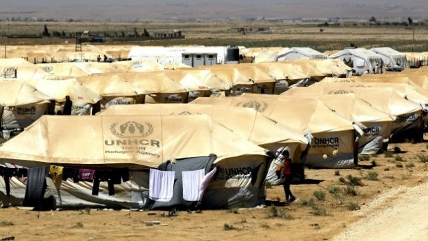 Scenes of Normality Mixed with Tragedy in Zaatari