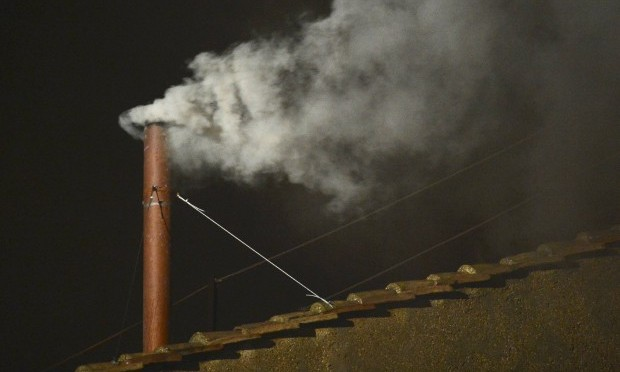 White Smoke Signals New Pope Elected in Secret Conclave