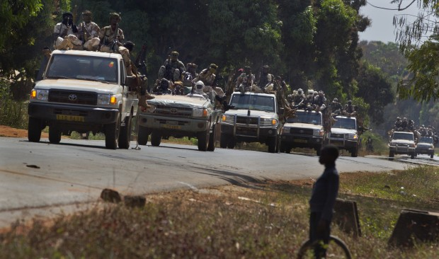 C. Africa Premier Calls for Talks with Advancing Rebels