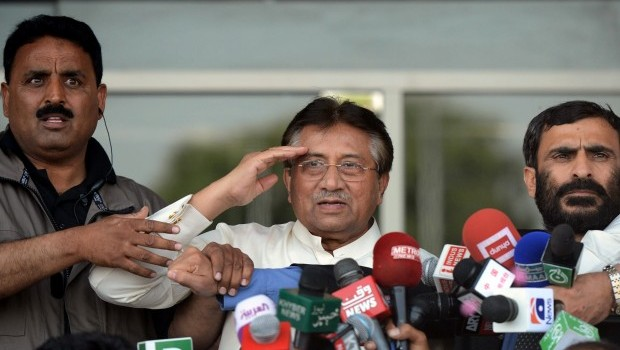 Musharraf Returns to Pakistan from Exile
