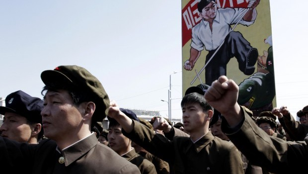 "North Korea Says Enters ""State of War"" Against South"
