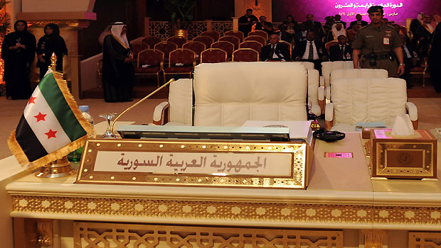 Opposition Takes Syria's Seat at Arab League