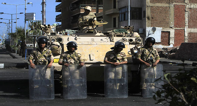 Egypt Fears Militia Takeover