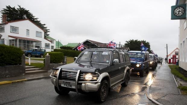 Falkland Islands Vote in Referendum with Eye on World