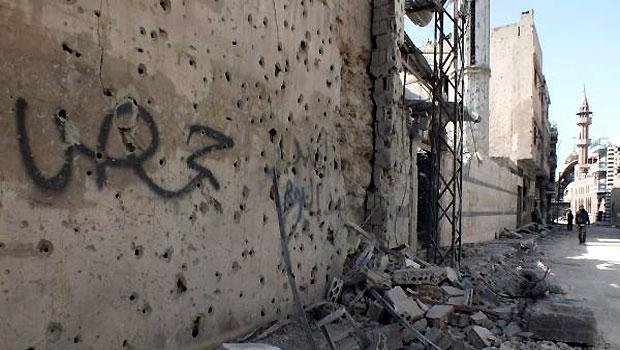 Syrian Regime Intensifies Shelling of Homs
