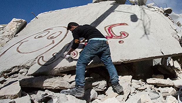 Syrian Graffiti Artist Takes On Regime
