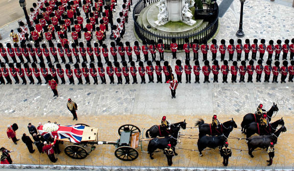 The Iron Lady's Final Farewell
