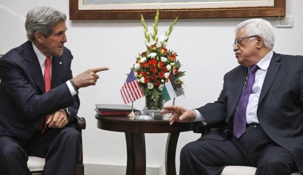 Kerry pushing to restart Israeli–Palestinian negotiations