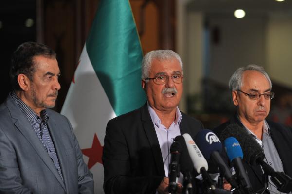 Syrian opposition to boycott Geneva II