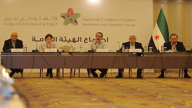 Rebel group splits from Syrian opposition coalition