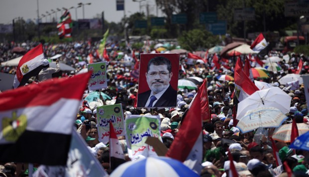 Mursi supporters rally ahead of June 30 as tensions mount