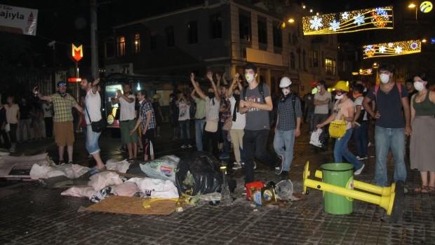 Teargassed in Taksim