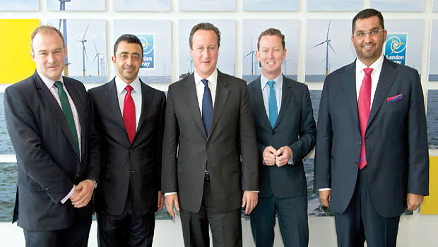 British PM, UAE ministers, inaugurate world's largest offshore wind farm