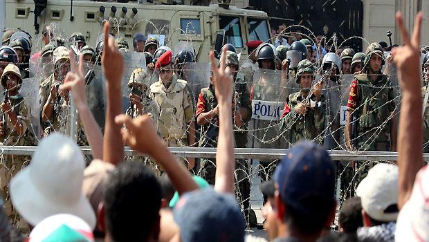 Pro-Mursi protesters killed as interim president dissolves Shura Council