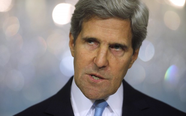 Kerry: Syrian regime planned for chemical attack