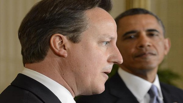 Cameron and Obama discuss Syria as Pentagon awaits orders