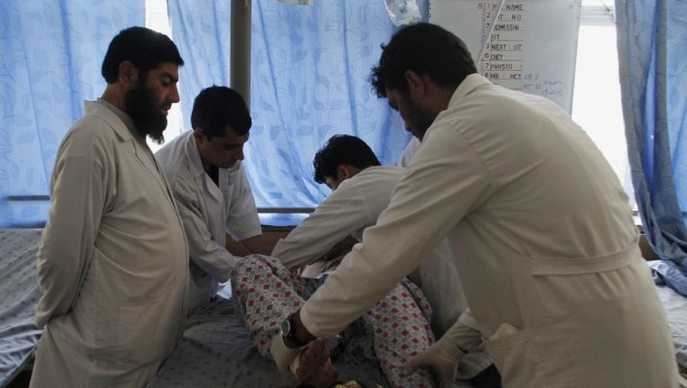 Attacks in southern Afghanistan kill at least 18