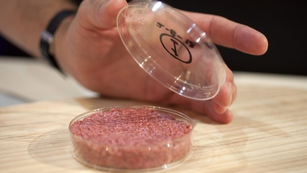 First reaction: lab-made burger short on flavor