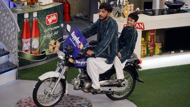 Pakistan's grand Ramadan TV giveaway