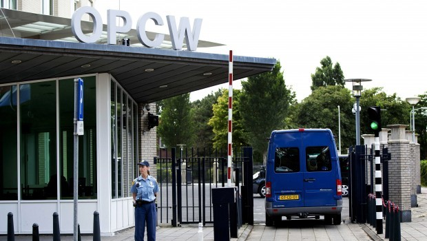 Syria sends OPCW chemical weapons inventory