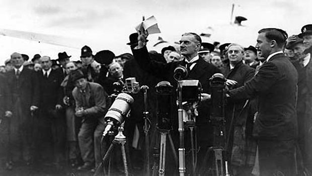 Opinion: Is it time to forgive Neville Chamberlain?